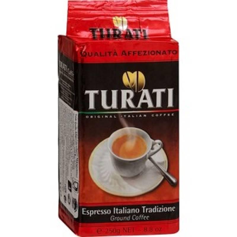 Turati Qualita  Affezionato жареное молотое ( 250 гр )