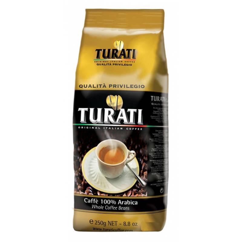 Turati Qualita Privilegio жареное в зернах ( 250 гр)