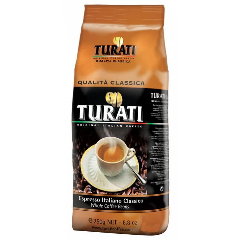 Turati Qualita Classica жареное в зернах ( 250 гр )