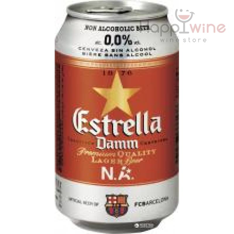 Estrella Damm non alkoholic ж/б ( 0,33л )
